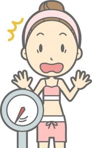 インフルエンザ インフル 痩せた 体型 体重 維持 方法